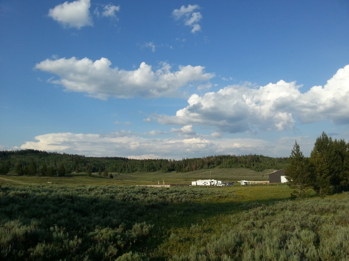 The beautiful rv park where we are staying. Most of the land you see in this picture is actually national forest.